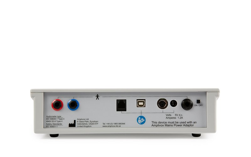 Amplivox 116 Audiometer Back