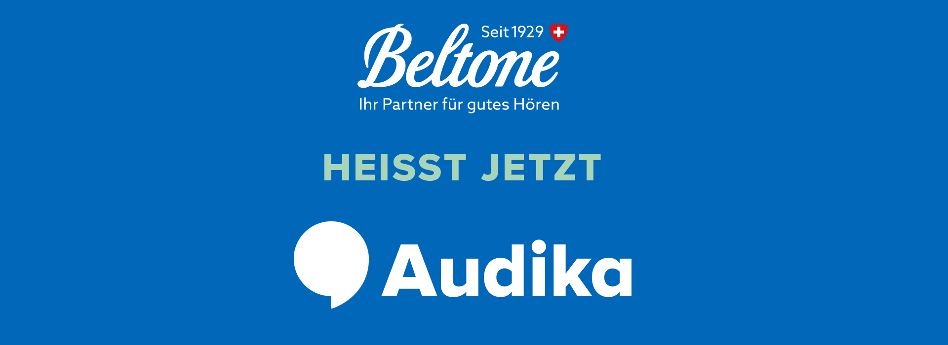 Beltone heisst jetzt Audika