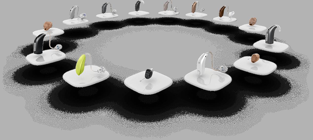 alle Oticon Hörgeräte im Kreis