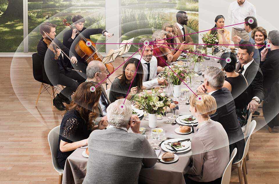 360-Grad-Technologie im Restaurant