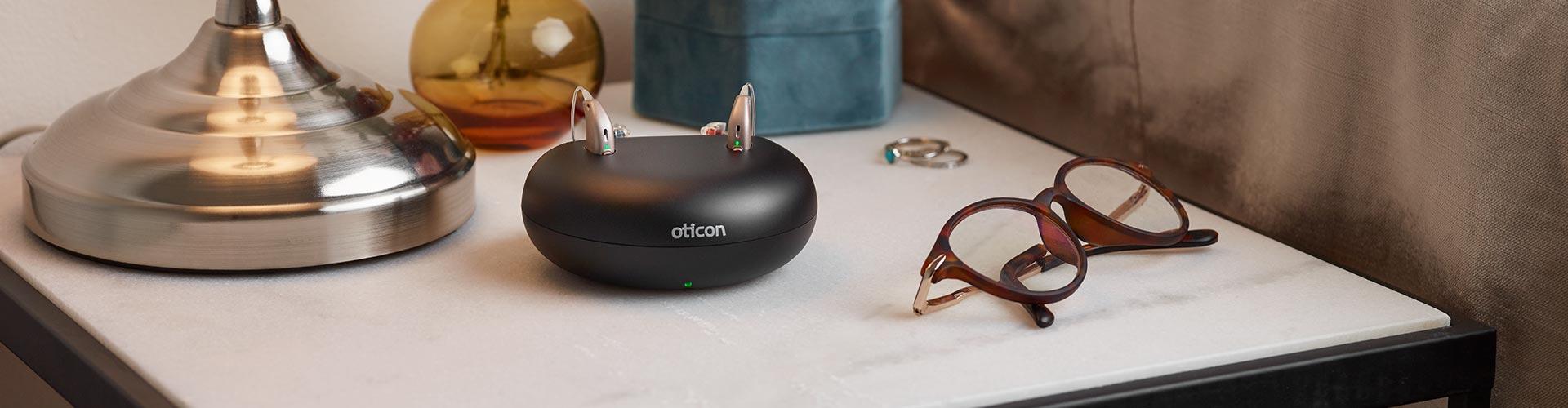 Genopladelige høreapparater