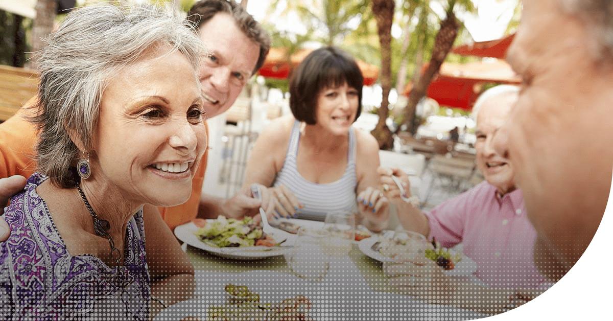Un repas de famille avec des troubles auditifs