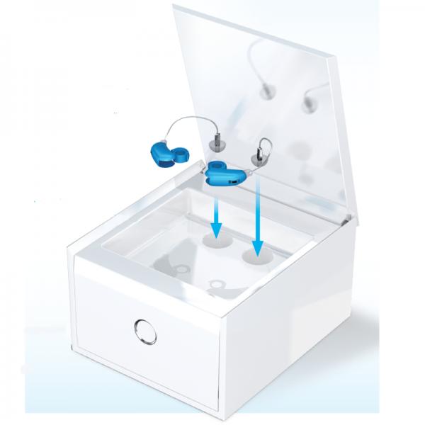 Boite nettoyante appareils auditifs perfect clean