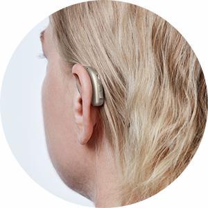 Appareil auditif miniRITE discret Audika
