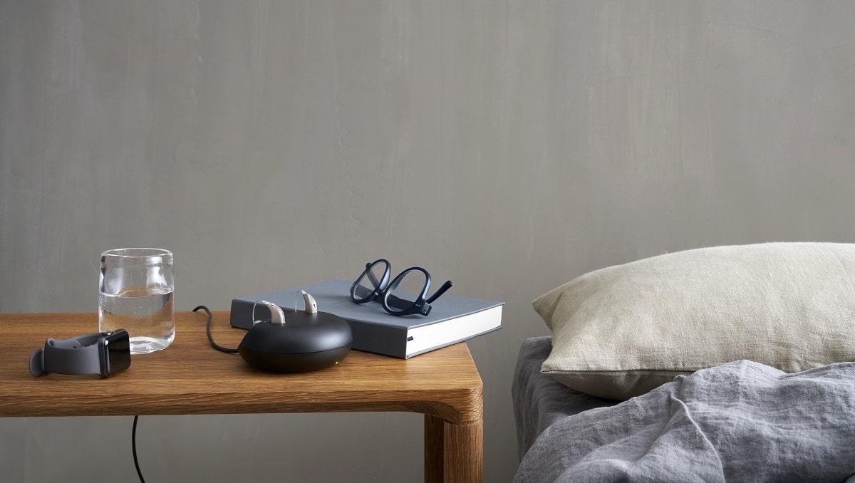 Appareil auditif discret et rechargeable