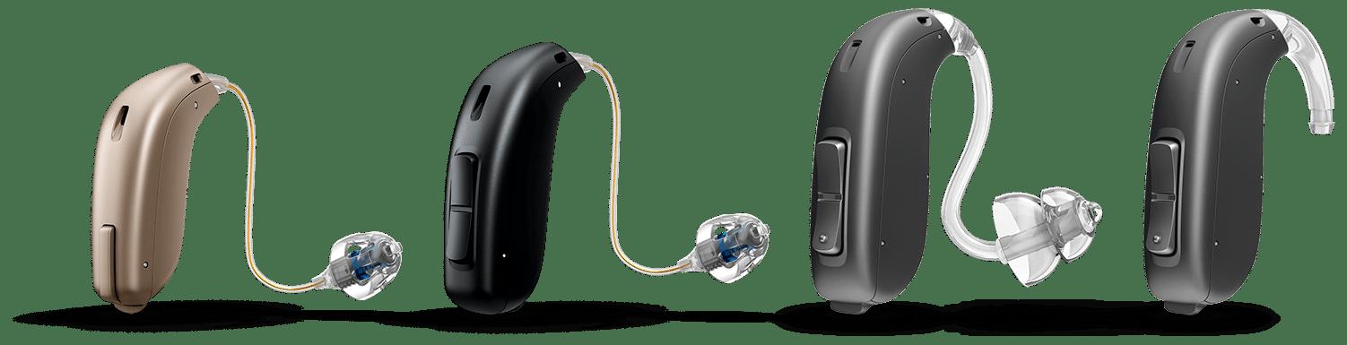 Présentation d'appareils se portant derrière l'oreille