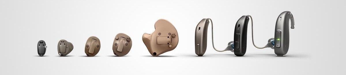 Différentes gammes d'appareils auditifs pour différents usages