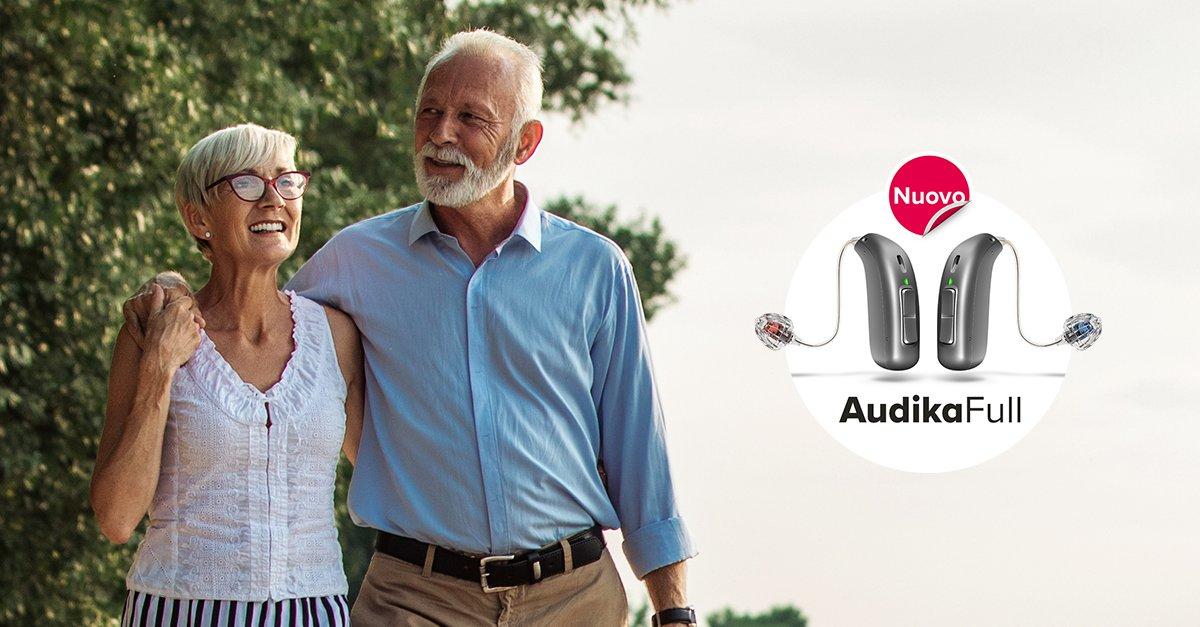 Audika Full nuovi apparecchi acustici