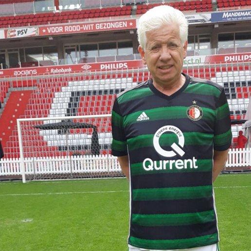 Hans van Dorp speler OldStars walking football