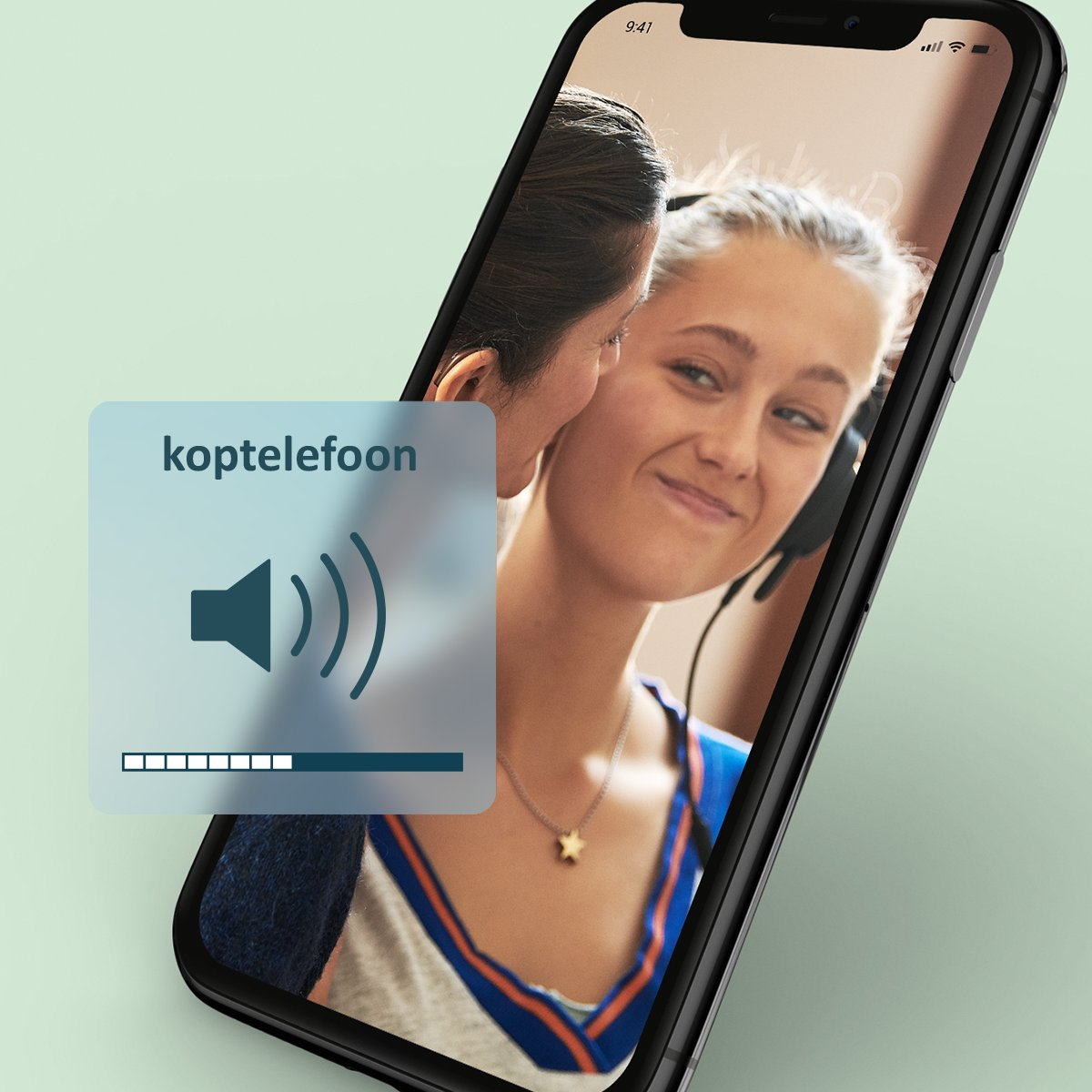 Volume telefoon