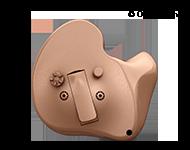 Olika modeller av allt-i-örat-hörapparater kan hjälpa dig att höra bättre. Allt-i-örat-hörapparater är placerade i örat, och är nästan helt osynliga hörapparater.