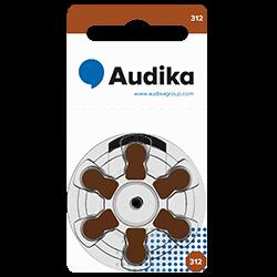 312 hörapparatsbatteri är en av storlekarna av batterier till hörapparater som du kan köpa hos Audika.