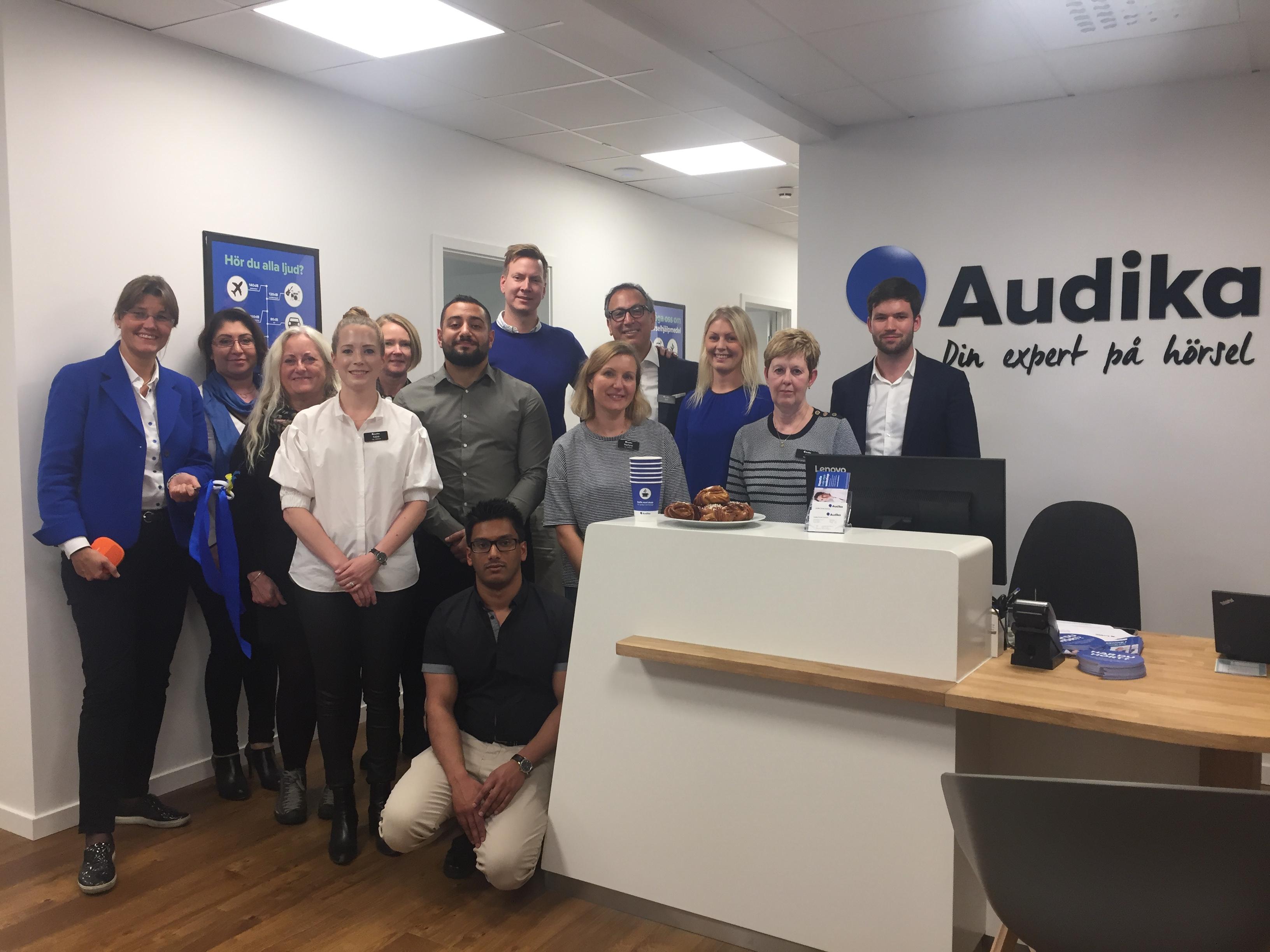 Audika öppnar ny hörselklinik i Farsta!