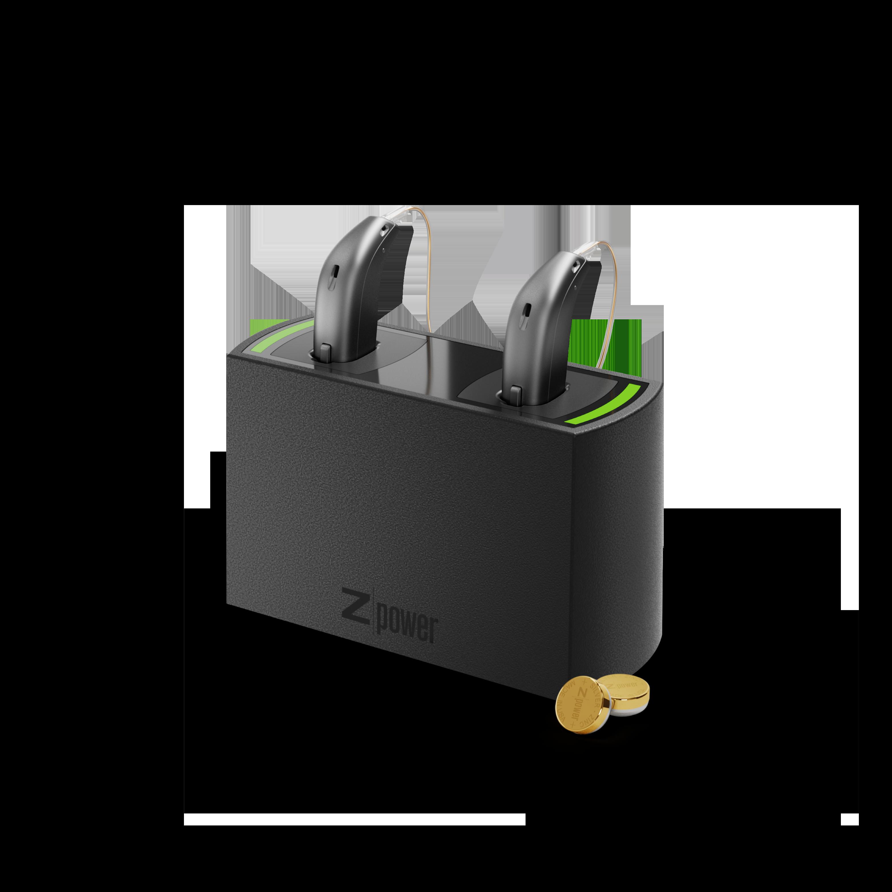 Oticons laddningsstation till dina hörapparats batterier