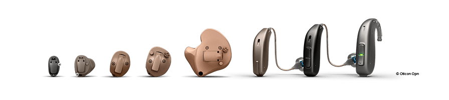 Sortiment av hörapparater i Skåne - prova ut hörapparat hos Audika i Skåne som passar dina behov.