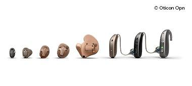 Hos Audika kan du prova ut olika modeller av hörapparater. Det finns olika hörapparatsmodeller för olika behov.