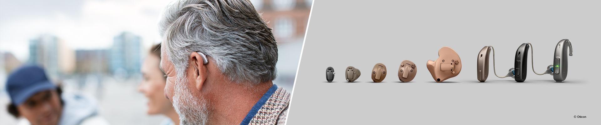 Hörapparatsmodell - modeller av hörapparater - Audika.