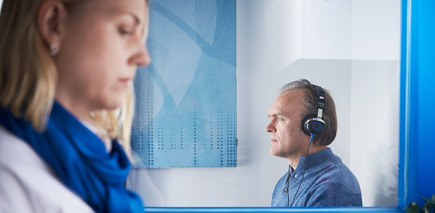 Online gratis hörseltest hos Audika - gör ett hörseltest online som är helt kostnadsfritt.