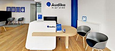 Beställ tid för hörseltest i Skåne med omnejd - Audika finns på flera platser.
