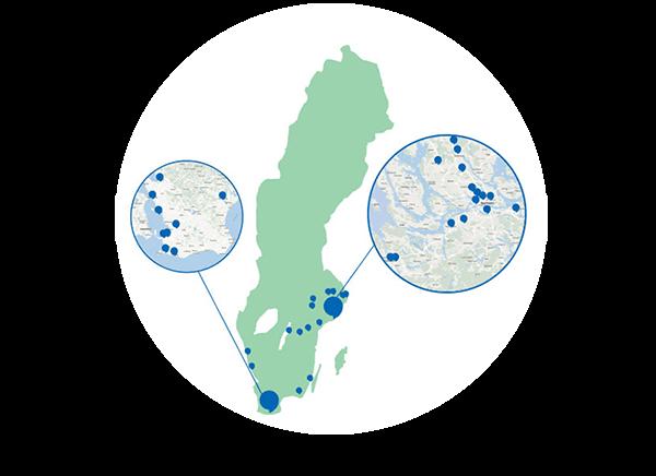Testa hörseln och kolla hörseln genom att göra ett hörseltest utan remiss. Du kan göra ett gratis hörseltest på i vissa regioner i Sverige.