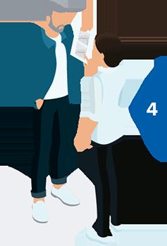 Hörseltest steg 4 genomgång av resultatet av ditt hörseltest och rådgivning om hörseltest-resultatet.