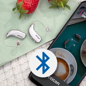 Oticon More - bluetooth och internetuppkopplad hörapparat hos Audika.
