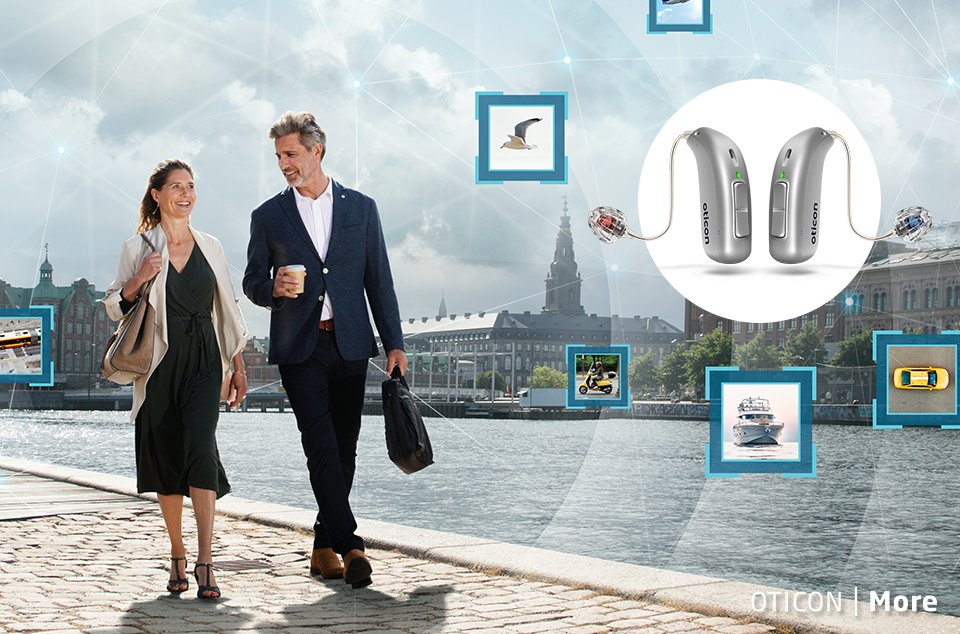 Hörapparat Oticon More - Audikas mest intelligenta hörapparat någonsin.