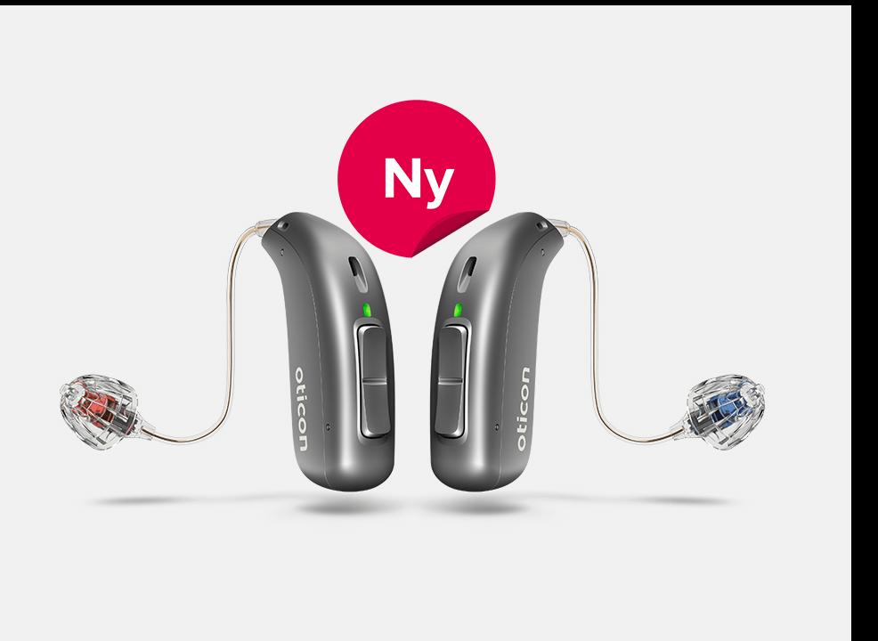 Oticon More - hörapparaten som är unik och Audikas mest intelligenta någonsin.