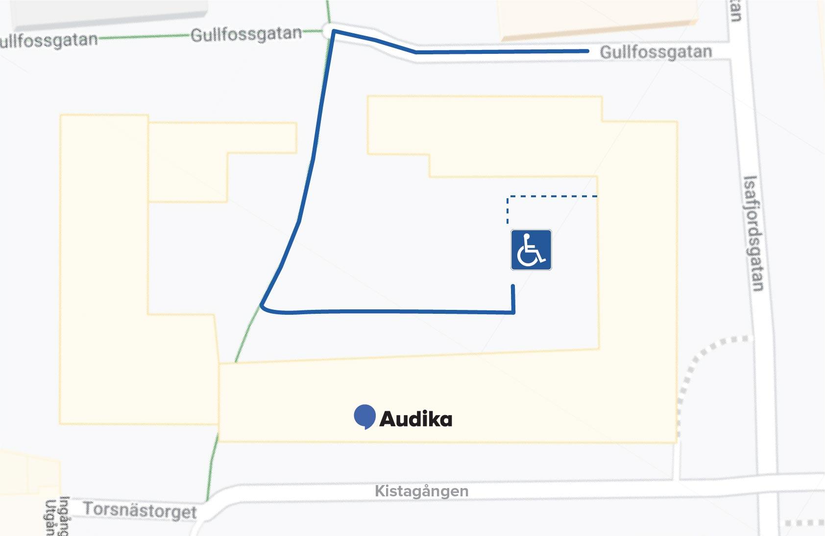 Audikas hörselklinik i Kista - prova hörapparat, gör hörseltest och träffa legitimerad audionom hos Audika.