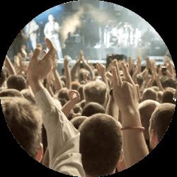 Öronproppar är A och O på en konsert för att skydda din hörsel