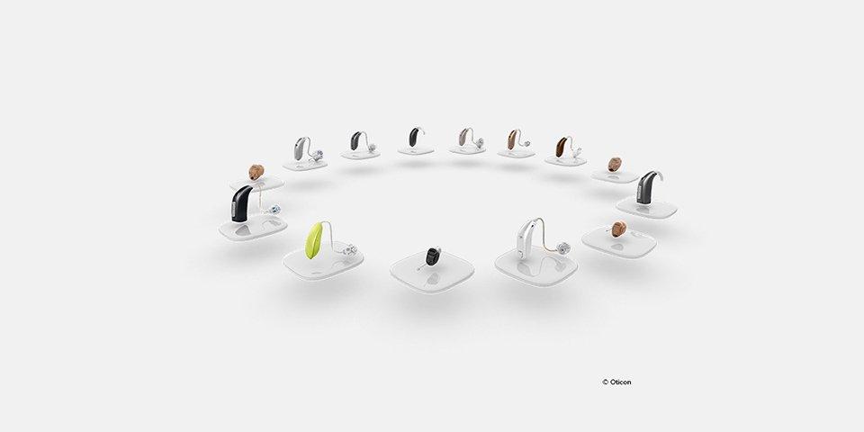 Oticons hörapparater är unika hörapparater med unik teknik. Hörapparater från Oticon finns i olika modeller och typer. Hitta din hörapparat från Oticon här.