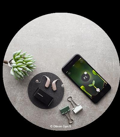 Vill du ha en unik hörapparat? Hörapparaten Oticon Opn S är den första hörapparaten där du kan uppfatta tal i nivå med normal hörsel. Dessutom är hörapparaten internetuppkopplad.