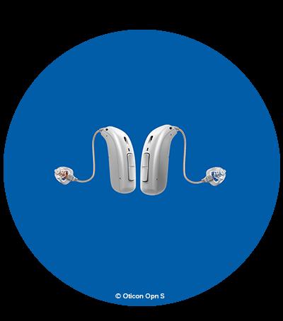 Med hörapparaten Oticon Opn S kan du uppfatta tal i nivå med normal hörsel, speciellt i bullriga situationer. Läs mer om vår unika hörapparat.