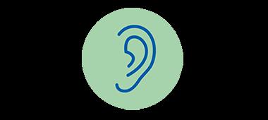 Dålig hörsel och tecken på nedsatt hörsel. Lär dig om vanliga tecken på nedsatt hörsel.