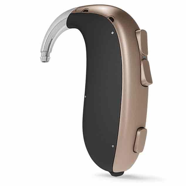 Bernafon miniRITE заушные слуховые аппаратыs с технологией  DECS для средних и тяжелых потерь слуха.