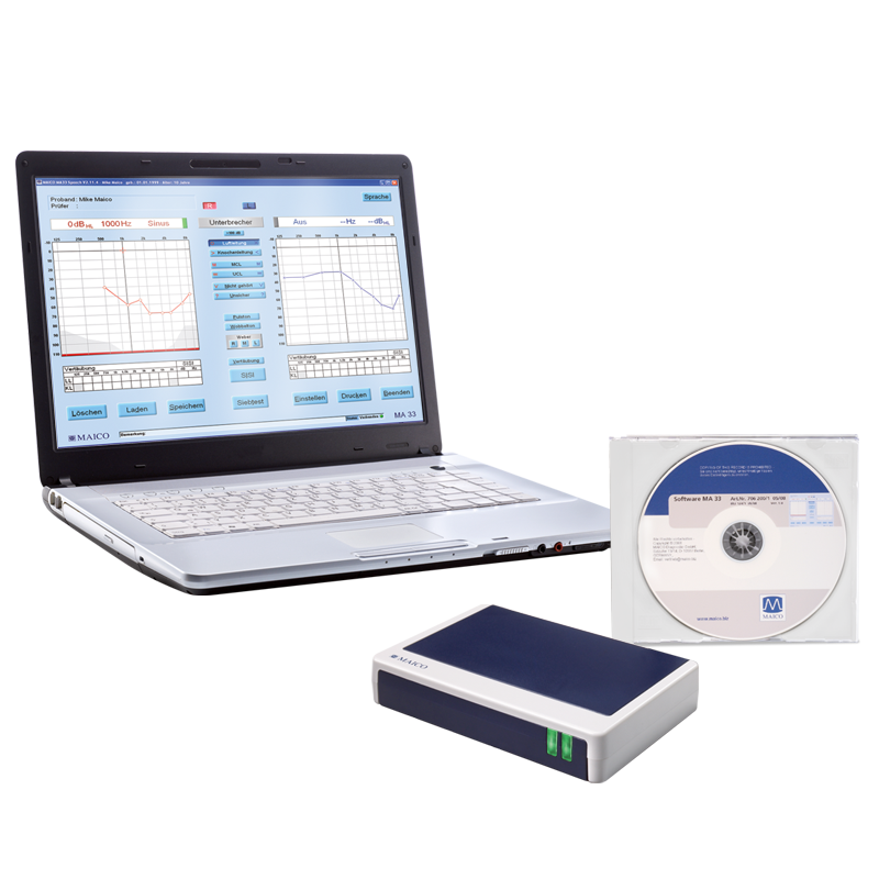 MAICO PC Audiometer MA 33