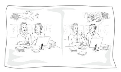 Exploring narrative effects 2 interactive process