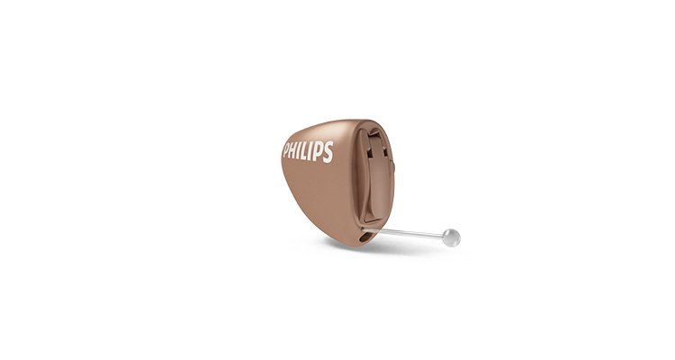 Philips HearLink completely-in-canal in-the-ear hearing aid (CIC)