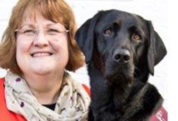 christine-and-dog