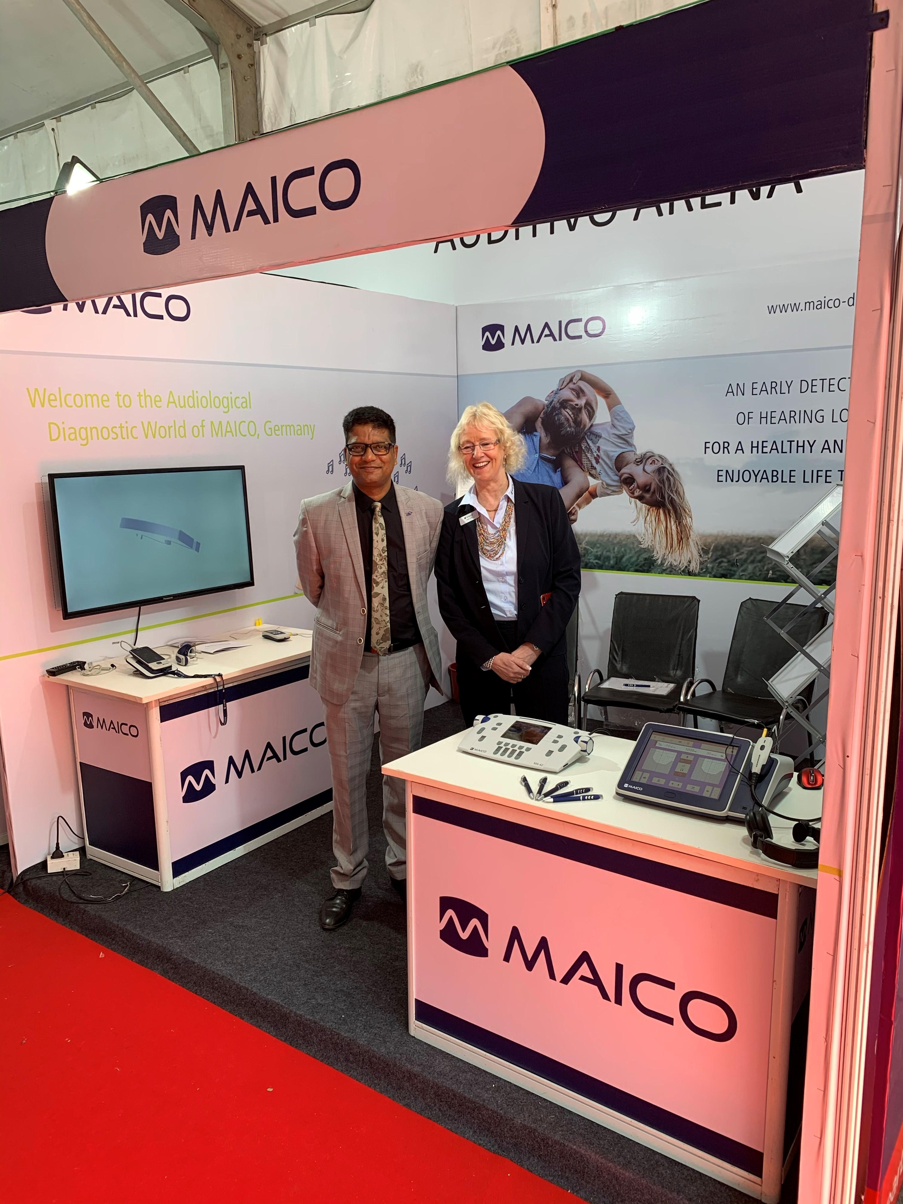 ISHACON 2020 MAICO and Auditivo present MAICO audiometers and tympanometers