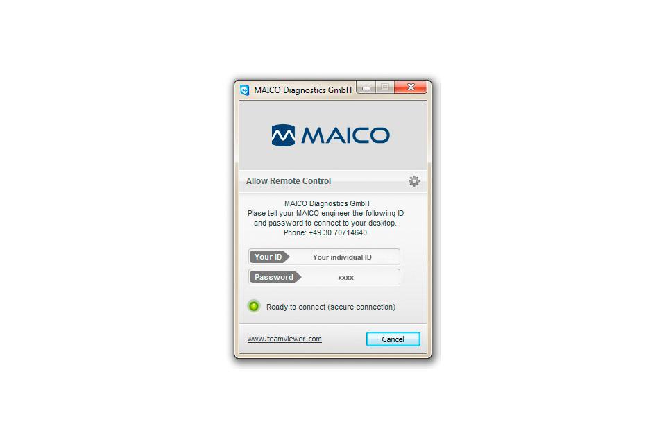 Remote Assistance | MAICO Diagnostics