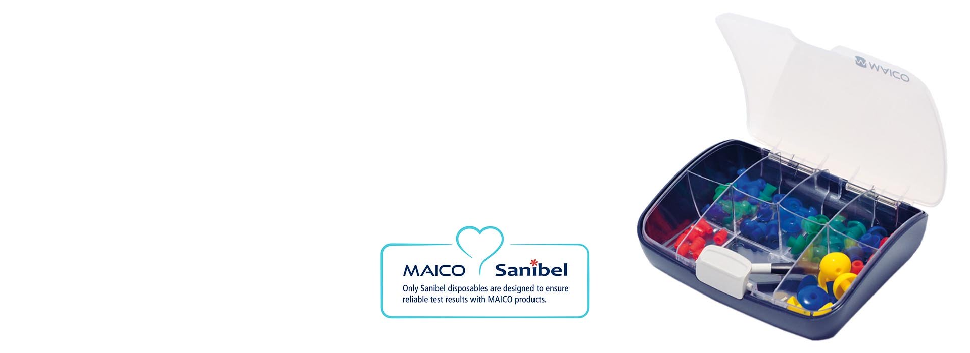 Sanibel disposables for MAICO devices
