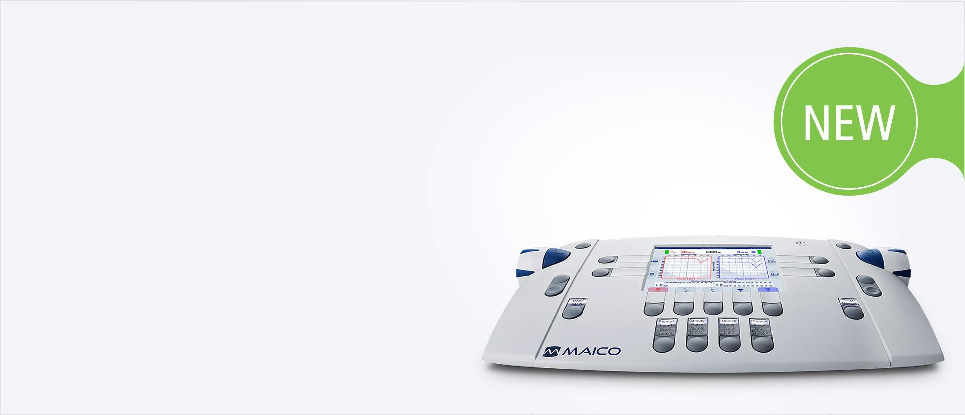 MAICO banner MA 42 2021 model audiometer