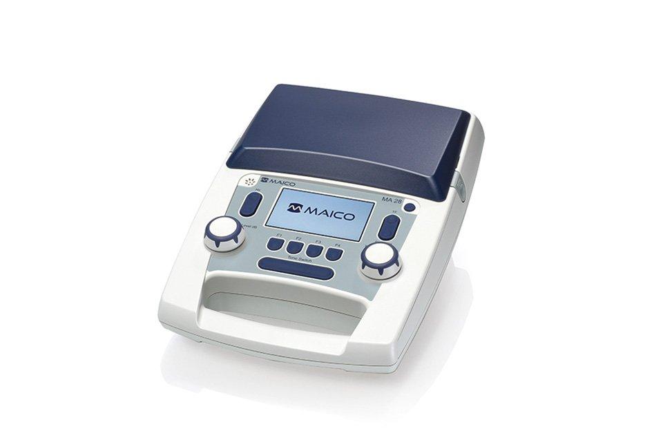 MAICO portable screening audiometer MA 28