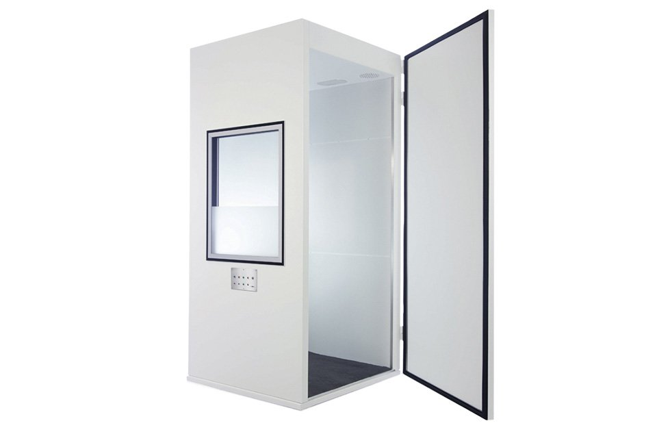 maxi 350 noise excluding cabin / audiometric screening booth