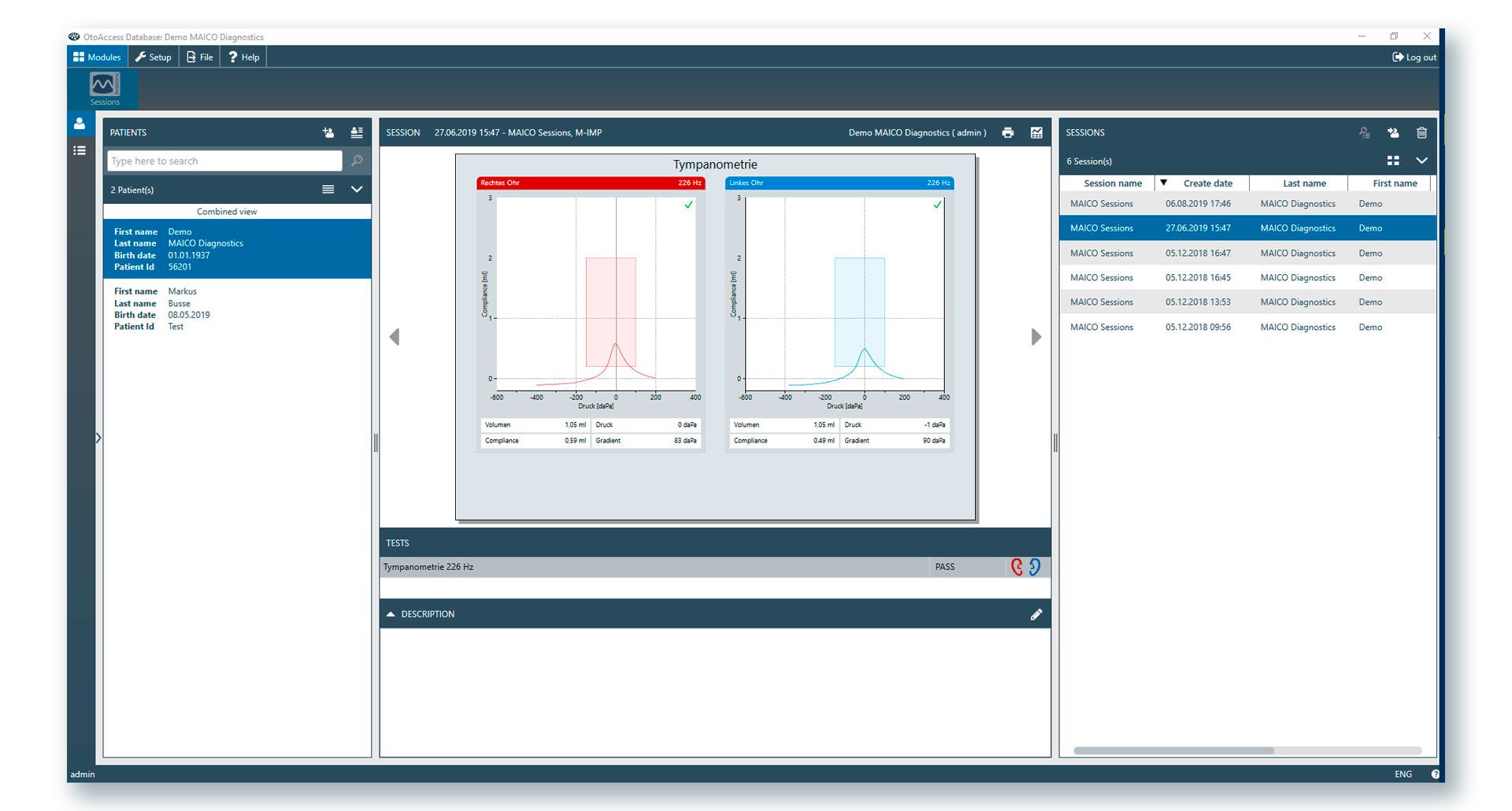 otoaccess-database-screenshot
