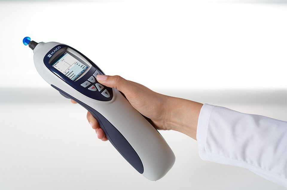 Handheld impedance measurement with MAICO easyTymp