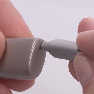 Locking and unlocking battery cart sleeve on Neuro 2