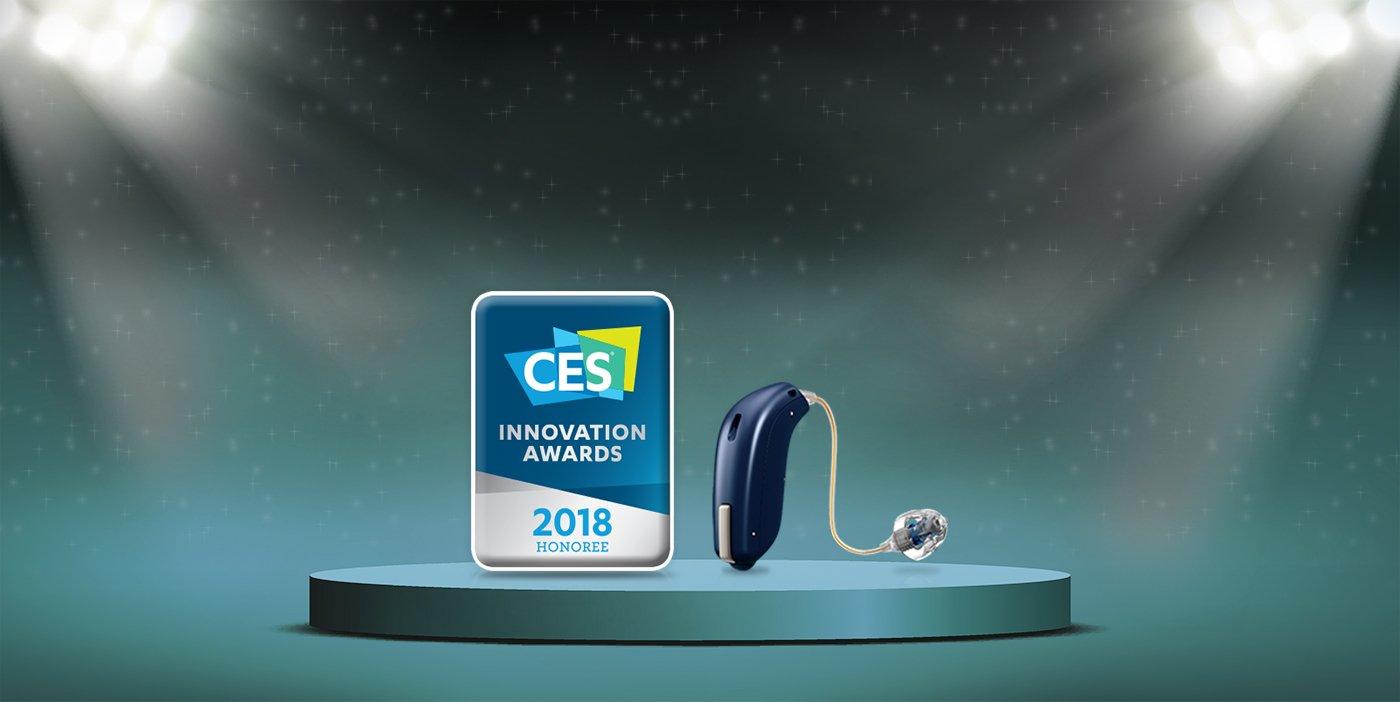 Oticon's HeaingFitness App wins CES Award