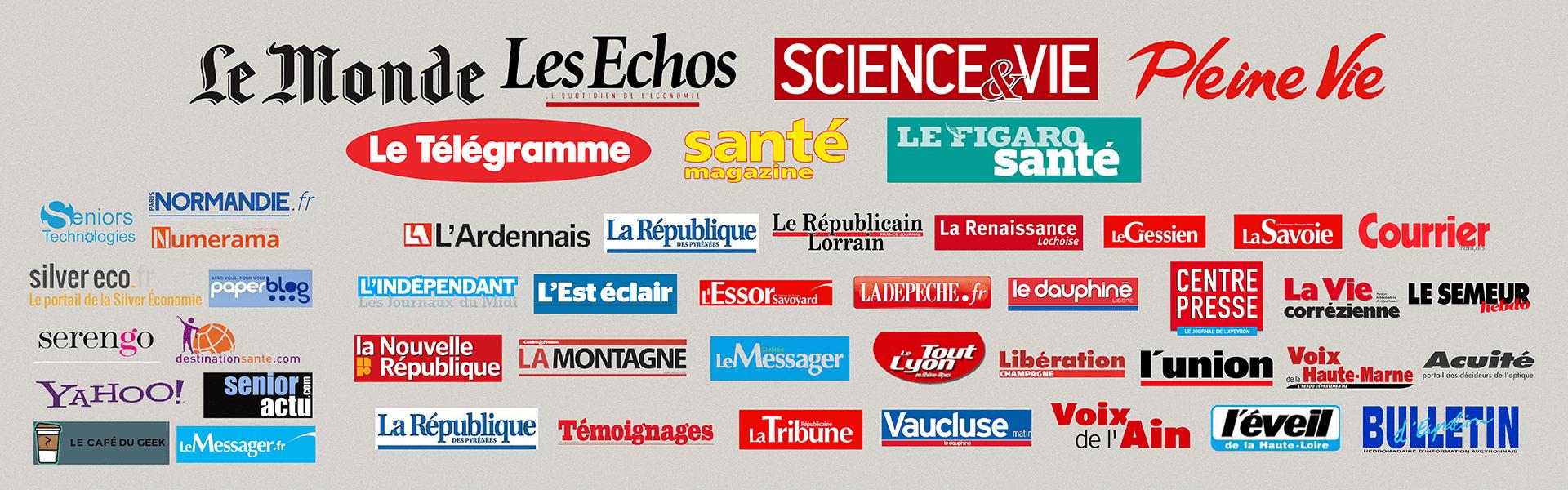 liste logos non exhaustive des journaux et magazines